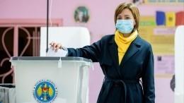 Навыборах президента Молдавии после обработки 99% протоколов лидирует Санду