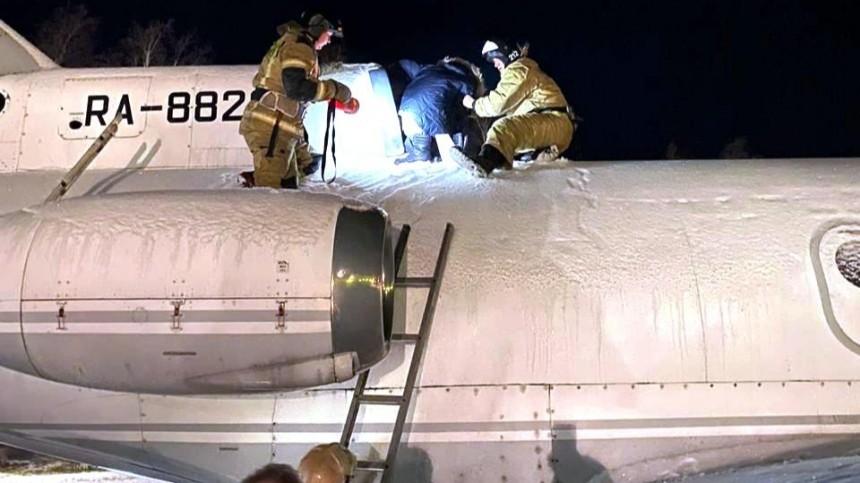 ВЮгорске подросток застрял втурбине самолета-памятника— фото