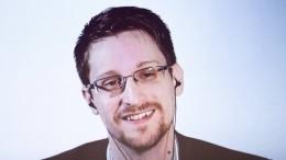 Сноуден иего супруга подали заявление наполучение гражданства РФ