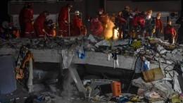 Задержаны девять человек, причастных кстроительству рухнувших вИзмире домов