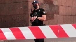 Неизвестный угрожает взорвать кафе вцентре Киева