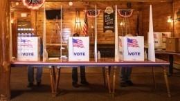 Байден обошел Трампа напервом открывшемся участке для голосования