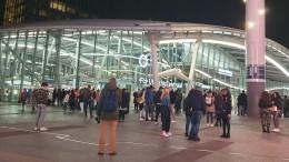 Спецоперация проходит вУтрехте из-за угрозы взрыва вокзала