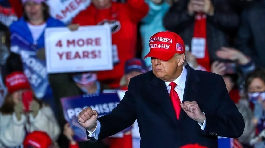 Трамп вслучае проигрыша пообещал перестать разговаривать сосвоими детьми
