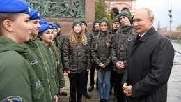 Знали, что такое долг перед родиной— Путин оподвиге Минина иПожарского