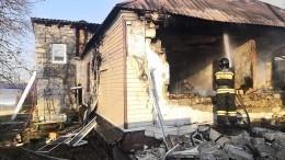 Мать сдвумя детьми погибли при пожаре после взрыва газа вЧелябинске