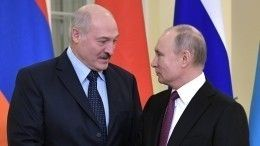 Путин иЛукашенко провели телефонный разговор