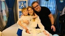 «Комочек счастья»: Подольская показала первую фотосессию новорожденного сына