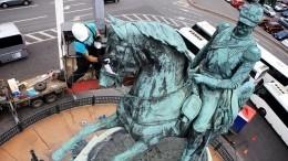 Тайна монумента Николаю Первому: вПетербурге завершается уникальная реставрация