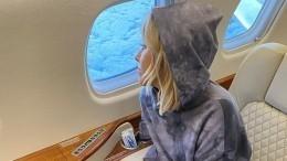 «Только хардкор»: Собчак улетела праздновать 39-летие вДубай