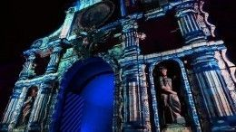 ВПетербурге прошло масштабное световое шоу «Чудо света»