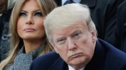 Супруга Трампа хочет подать наразвод после президентских выборов