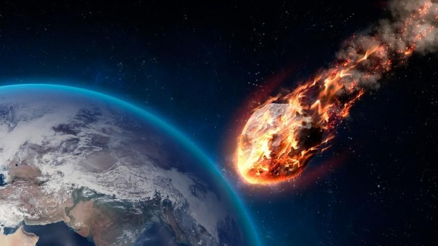 Видео падения метеорита вЛиване опубликовано всети