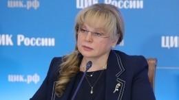 Памфилова предложила вводить вшколах каникулы навремя многодневного голосования