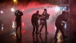 Входе протестов уздания ЦИК вТбилиси пострадали неменее 27 человек