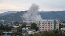 Путин выступил сзаявлением опрекращении огня вКарабахе