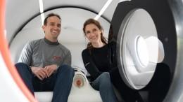Подземный поезд будущего: вакуумную капсулу Маска впервые испытали спассажирами
