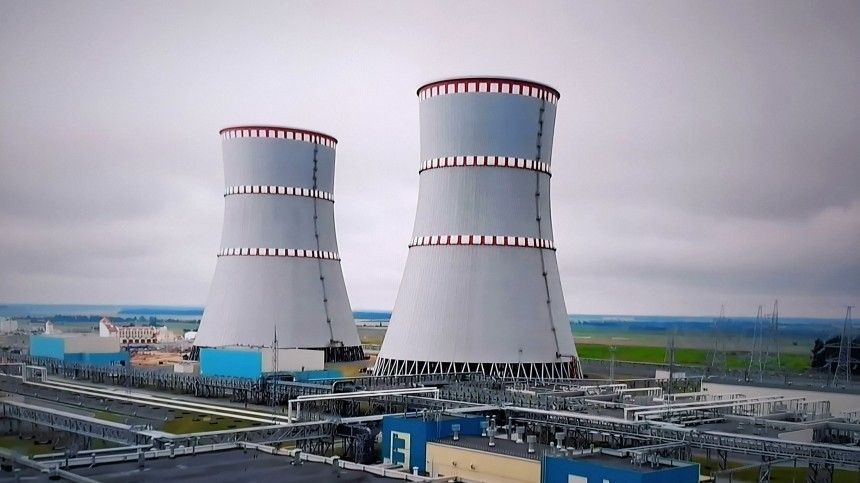 Белорусская АЭС прекратила выработку электроэнергии