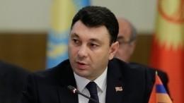 ВАрмении арестовали бывшего вице-спикера парламента Шармазанова