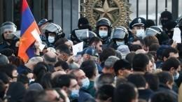 Протестная Армения: после ультиматума Пашиняну начались задержания оппозиции