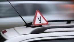 ВРоссии могут разрешить водить автомобиль с17 лет