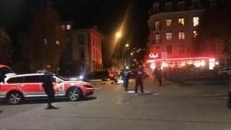 Полицейская спецоперация проводится вШвейцарии после сообщений острельбе