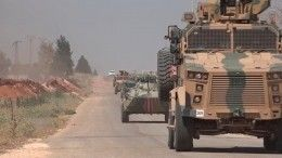 Мощный взрыв прогремел напути следования военных изРФвСирии