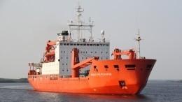 Научное судно «Академик Федоров» вернулось вПетербург изарктической экспедиции