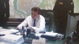 Зачто задержали мэра Томска