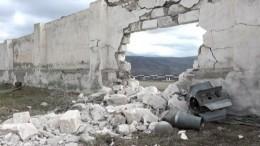 Первое видео слинии разграничения возле города Шуши вКарабахе