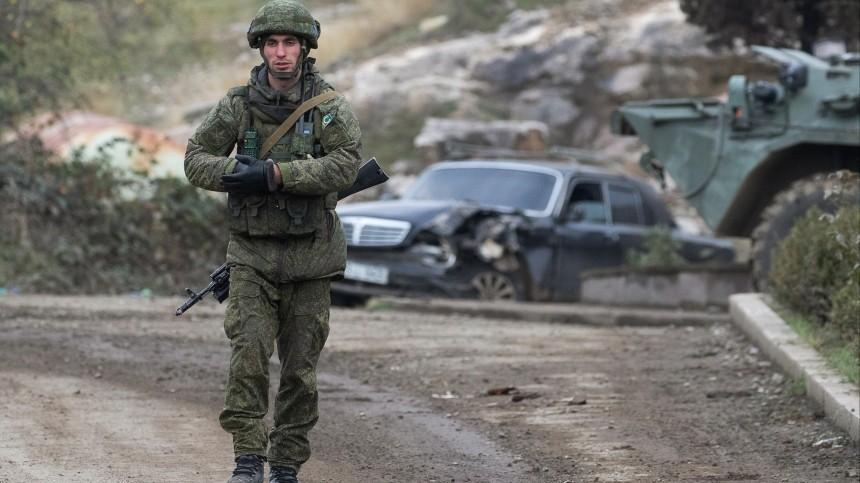 ВНагорном Карабахе начался обмен телами погибших военных