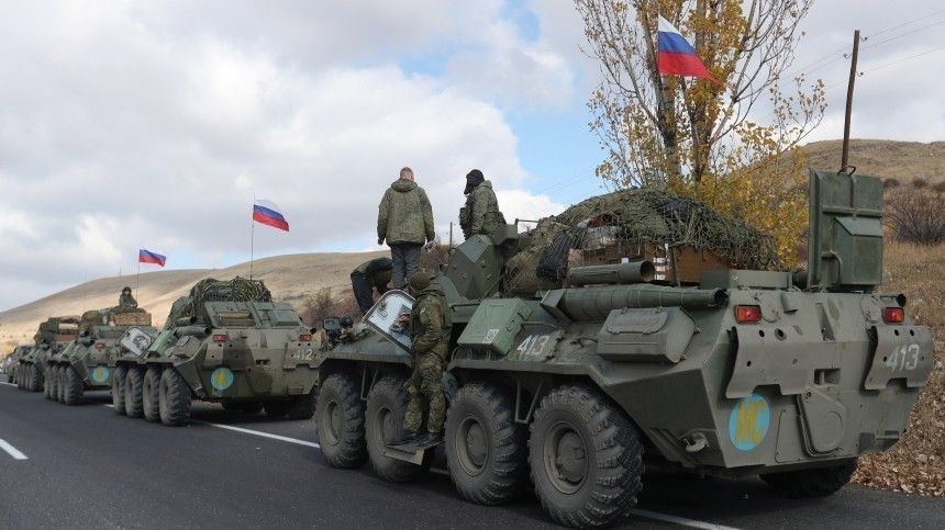 Военная полиция вКарабахе приступает кпатрулированию зон «Север» и«Юг»
