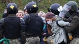 Российских журналистов задержали входе протестов вМинске