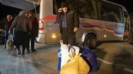 Вторая колонна беженцев прибыла вСтепанакерт