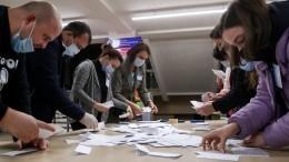 ВМолдавии завершают подсчет голосов напрезидентских выборах