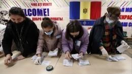 ВКремле прокомментировали результаты президентских выборов вМолдавии