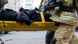 Взрослый иребенок погибли вкрупном пожаре вПодмосковье— видео