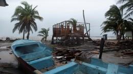 Ураган «Йота» грозит серьезными разрушениями вЦентральной Америке