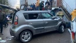 «Машина как рванет!»— калининградский водитель рассказал, как въехал влюдей