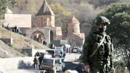 Путин назвал прекращение огня вНагорном Карабахе главным достижением