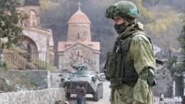 Песков объяснил запрос Путина кСовфеду оботправке миротворцев вКарабах