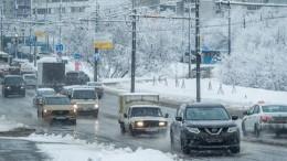 ЮгРоссии замерзает после аномального снегопада ихолодов
