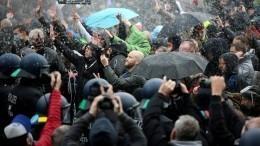 Неменее 365 человек были задержаны вовремя протестов вБерлине