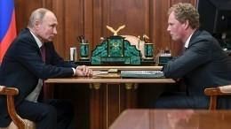 Владимир Путин накануне Дня налоговика встретился сглавой ФНС