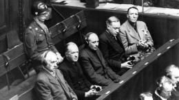 Уроки Нюрнбергского процесса: 75 лет мира— неповод, чтобы забыть ипростить ужасы той войны