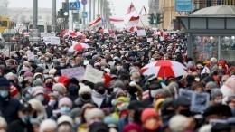 Намитингах вБелоруссии задержали более сотни человек