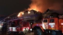 ВНальчике загорелся трехэтажный магазин площадью втысячу «квадратов»— видео