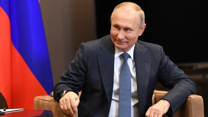 Путин впервые показал комнату отдыха всвоей резиденции вНово-Огарево