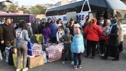 Более семи тысяч беженцев вернулись вКарабах при поддержке миротворцев