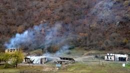 Минобороны сообщило осостоянии раненого вКарабахе российского миротворца